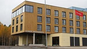 Scandic Brennemoen Hotell åpnet